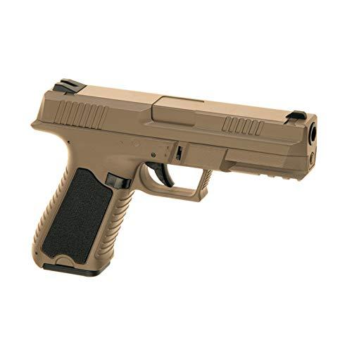 Cyma Softair - Pistole CM127 AEP TAN G18 Airsoft < 0,5 J. - inkl. Akku & Ladegerät