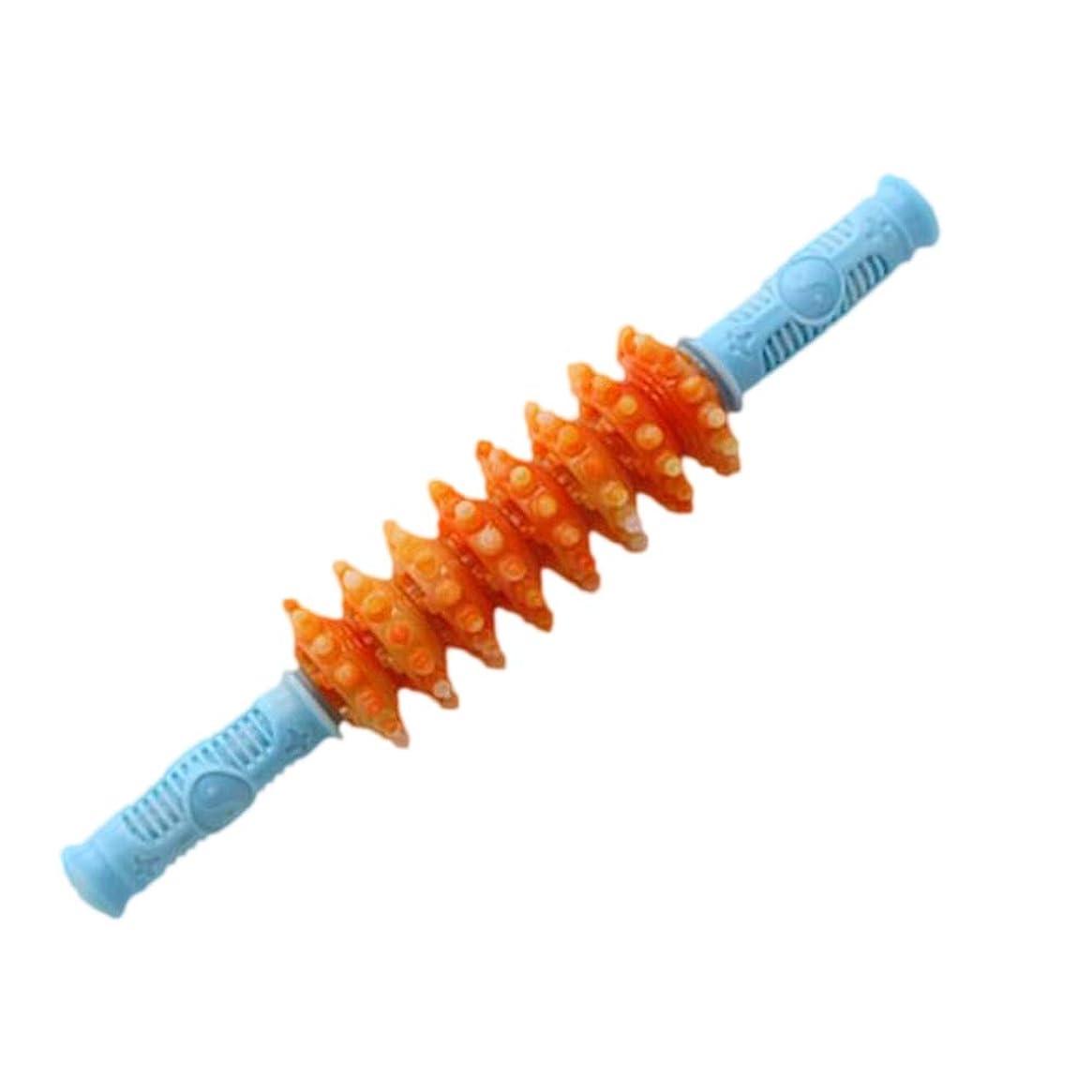 一般化するネット責Healifty 筋肉痛筋肉痛筋膜痛を和らげるためのヨガの筋肉ローラーマッサージスティック