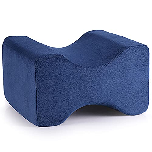 LXQGR Moshang Home New Memory Pierna de Espuma Almohada Cómoda Tirable Multifuncional Legging Almohada Rebote Lento Almohada de la Pierna (Color : Blue)