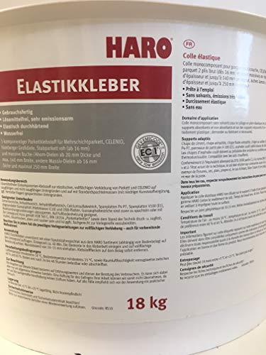 Haro Elastikkleber Parkettkleber für vollflächiges Verkleben von Perkett 18 KG Eimer