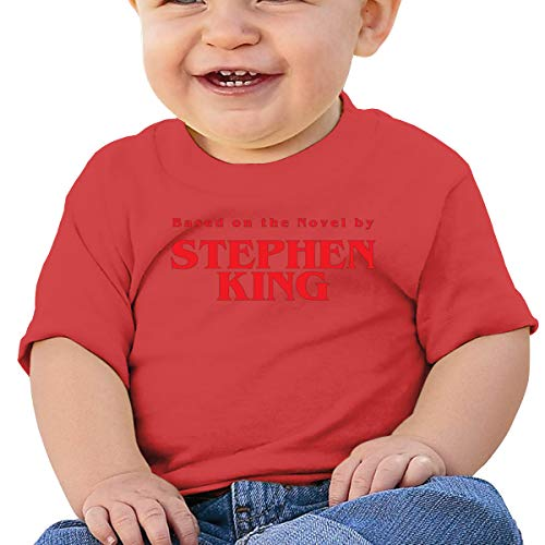 Based on The Novel by Stephen King Baby T-Shirt,Baby T Shirts 6-24 Months