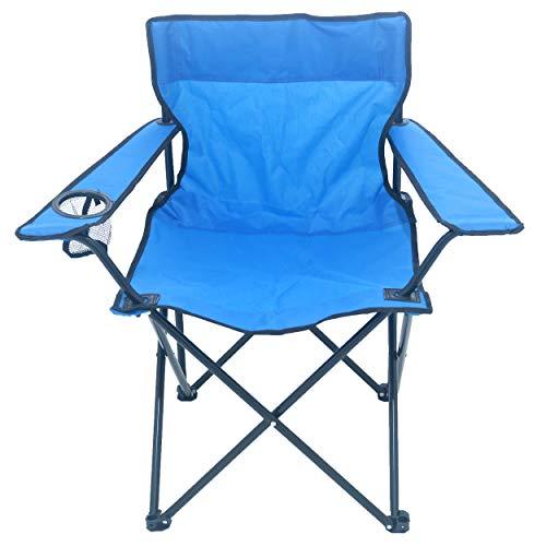 Sparmeile Ambientehome campingstoel, blauw