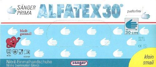 Alphatex Nitril 300, Einweghandschuhe, Gr. M
