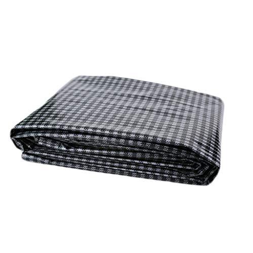 LILIS Fundas Muebles Jardin Impermeable Lona Negro Rejilla de Polietileno Lonas de protección Solar al Aire Libre a Prueba de Lluvia Cubre Carpa 160G / M² (Color : A, Size : 3x4m)
