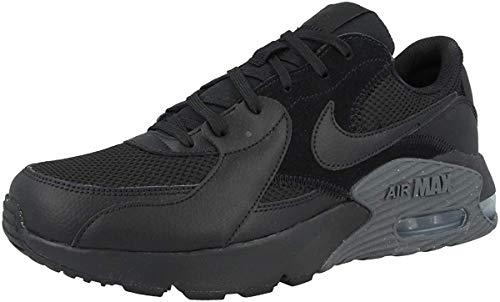 Nike Air MAX Excee, Zapatillas Hombre, Negro/Negro-Gris Oscuro, 45 EU
