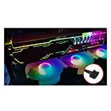 Computer LED beleuchtete Grafikkarte Support Holder Support Frame Universal Vertical Für Computer