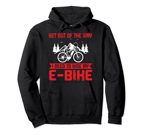 Salir de la forma que necesito para montar mi e-bike e-bike Sudadera con Capucha