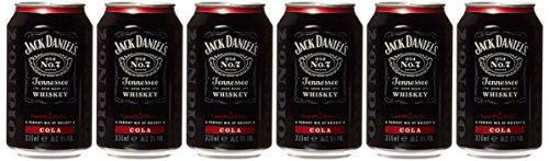 Jack Daniel's Tennessee Whiskey & Cola 5% Vol. 12x0,33l Dosen - 3960 ml