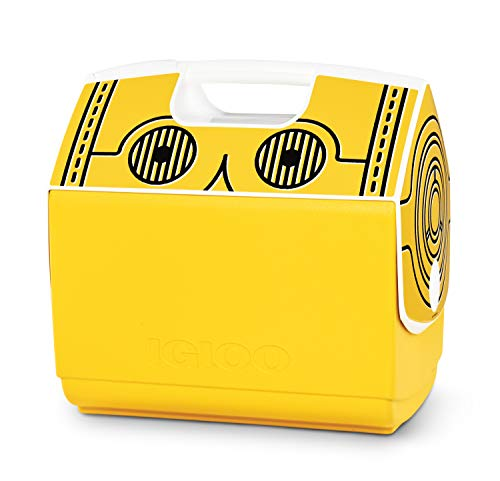 Igloo 16 QuartLimited Edition Star Wars C3PO Portable Lunchbox Playmate Elite Cooler Ice Box, Large
