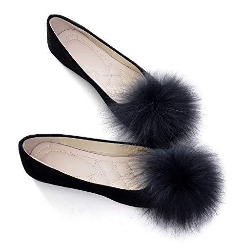 Top 10 best selling list for black pom pom flat shoes