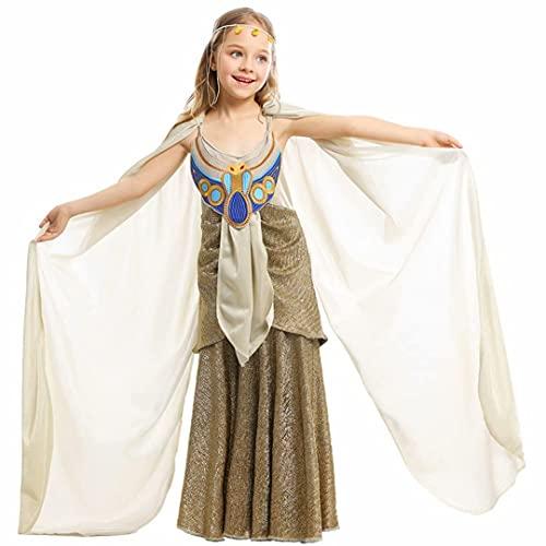 Disfraz de Reina egipcia para niños, Disfraces de Cosplay de Reina egipcia para Halloween, Vestido de Princesa egipcia para niños, Traje de Reina, Disfraz de Princesa Romana para niñas