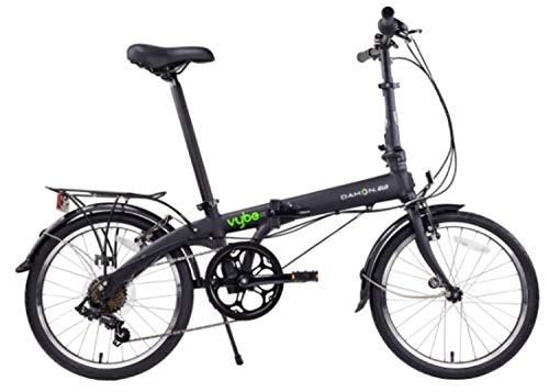 Dahon Vybe D7 Folding Bike, Black (2020)