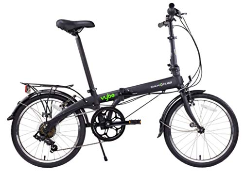 Dahon Vybe D7 Folding Bike, Black (2020)