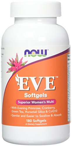 Now Foods Eve Women's Multiple Vitamin softgels, 180-Count