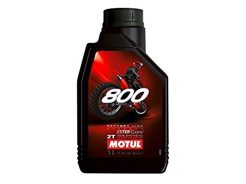 Olio motore 2T MOTUL 800 Off Road 1 litro