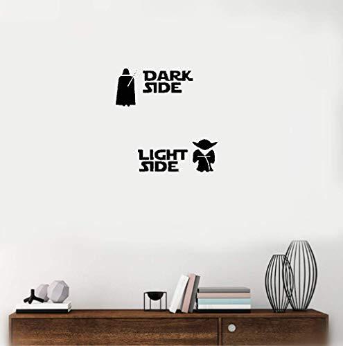 Vinilo decorativo Star Wars-Vinilo decorativo Star Wars-Vinilo decorativo Yoda