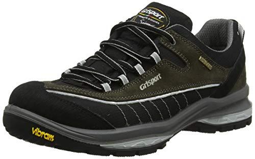 Grisport Latitude, Stivali da Escursionismo Uomo, Grigio (Black/Grey), 44 EU