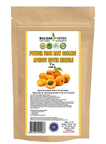 Raw Organic Bitter Apricot Kernel Powder, The Best Natural Source of...
