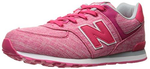New Balance New Balance KL574, Unisex-Kinder Sneaker, Violett - Rose - Größe: 32.5 EU