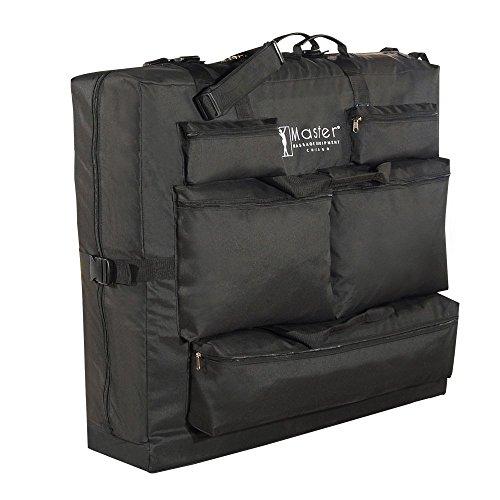Master Massage Transporttasche für Massageliegen Nylongewebe Noch leichterer Transport Schwarz (Ohne Rädern)