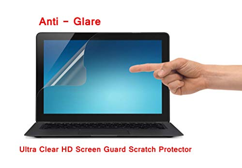 Saco Anti Glare Scratch Anti-Fingerprint Ultra-Clear Screen Protector for Dell Inspiron 15 7000 Series i7537T-5005sLV 15-Inch Touchscreen Laptop - 15.6 inch Laptop