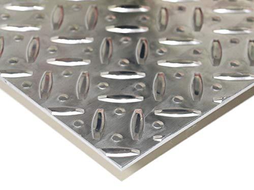 アルミ縞板 A5052 板厚3.0mm 300mm × 400mm