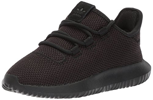 adidas Originals Boys' Tubular Shadow C Running Shoe, White/core Black, 11.5 M US Little Kid