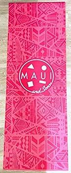 Maui and Sons Leilani 4mm Yoga Mat 6824 ,Pink