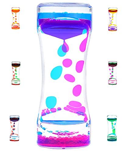 Liquid Motion Bubbler Timer Diamond Shaped Liquid Timer for Fidget Toy,Autism Toys , Children...