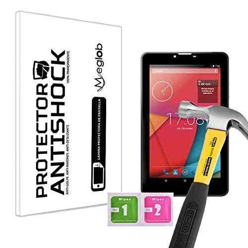 Protector de Pantalla Anti-Shock Anti-Golpe Anti-arañazos Compatible con Tablet Vexia Zippers Tab 7i 3G