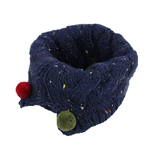 Boomly Invierno Bufanda De Cuello Niño Suave De Tejer Cálido Collar Pañuelo Bufanda Para Bebé Niños Niñas De 3 A 10 Años De Edad