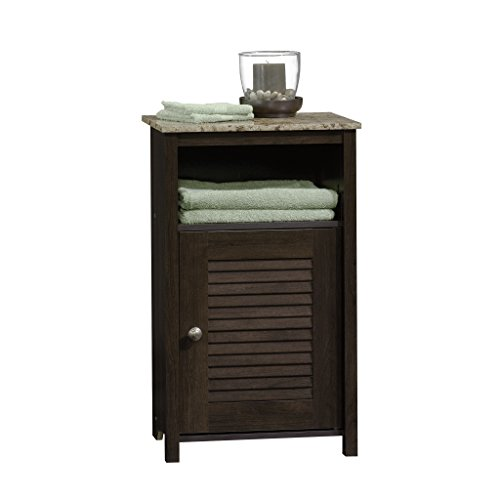 "Sauder Peppercorn Floor Cabinet, L: 17.32"" x W: 11.50"" x H: 28.78"", Cinnamon Cherry finish"