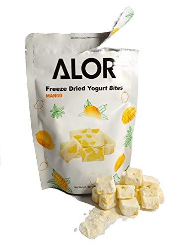 ALOR freeze dried yogurt bites Mango fruit Malaysia snacks Natural fruit 30g pack (Mango)