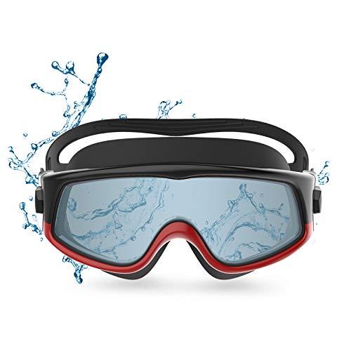 Funni Dia ゴーグル 水泳 大人,くもり止め 水泳 スイミングゴーグル, メンズ と レディース 競泳 水中ゴーグル