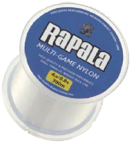 Rapala(ラパラ) ナイロンライン マルチゲーム ナイロン 平行巻ボビン 300m 2.0号 10lb クリア DNHXL023024C91