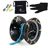 MagicYOYO N11 mit Gewicht Ring Aluminium nicht reagierendes professionelles YoYo Ballo Spielzeug mit...