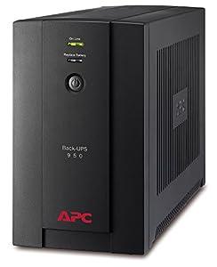 APC Back-UPS BX - BX950UI - Unterbrechungsfreie Stromversorgung 950VA (AVR, 6 IEC Ausgänge, USB, Shutdown Software)
