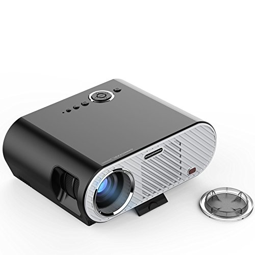 GUORZOM Proyector GP90 Home Proyector Inteligente Cine Cine USB HDMI Full HD LCD LED Proyector De Video para Regalo Home Theater 1080P (Sistema Operativo Android Opcional)