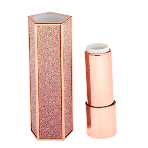 Toygogo 1.21cm Vide Tube Flacon de Parfums Solides Bouteille Rechargeables Rouges à Lèvres DIY