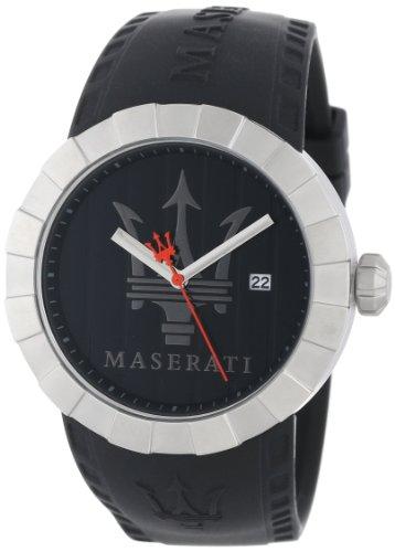 Maserati Reloj de Pulsera para Hombre XL analógico de Cuarzo plástico R8851103002