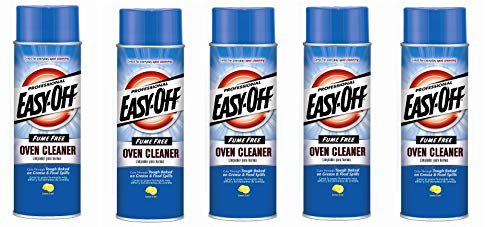 Easy Off Professional Fume Free Max Oven Cleaner, Lemon 24 Ounce (Pack of 3)
