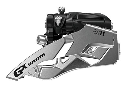 Sram Gx Bicycle Front Derailleur with 2 x 11 Low-Clamp Bottom Pull