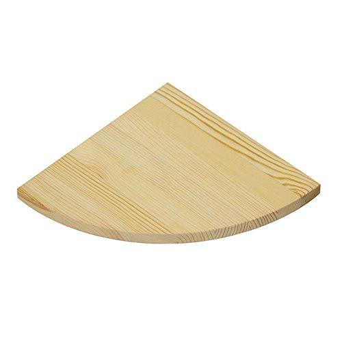 ZZHF Holztrennwand Wand Massivholzplatte Wandregale 25 * 1.7cm Schreibtische