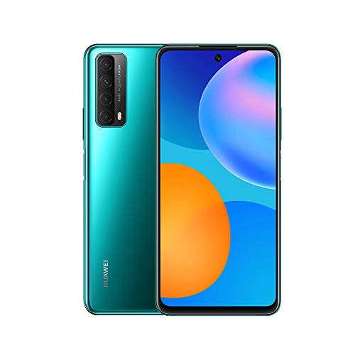 HUAWEI P Smart 2021 - Smartphone con Pantalla de 6,67 Pulgadas Full HD, 4GB de RAM y 128 GB de ROM, 22.5W HUAWEI Supercharge, 5000 mAh de batería, Cuádruple cámara con IA de 48 MP, Negro