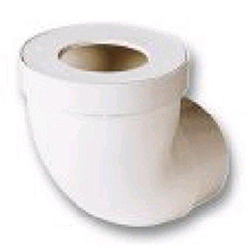 pipe coudée pour wc - courte - diamètre 100 mm - nicoll cw11
