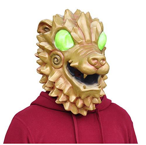 Hound Mask Cosplay Hound Latex Masken Helm Halloween Karneval Maskerade Party Requisiten