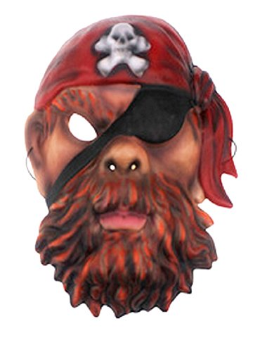 Máscara de pirata para fiesta de disfraces.