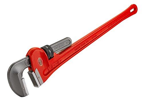 RIDGID 31045 Giratubi dritti per impieghi pesanti da 150 cm, chiave per idraulica da 150 cm