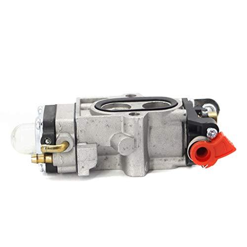 Carburador TJ45 Carb Compatible con KAAZ Kawasaki TJ45E KBL45 KBH45 2 Trayos Carburador Strimmer Carburador de carburador Piezas de soplador 15004070 Partes del Motor