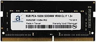 Hynix Original 8GB Laptop Memory Upgrade for ThinkCentre M910q Tiny DDR4 2400Mhz PC4-19200 SODIMM 1Rx8 CL17 1.2v RAM DRAM Adamanta 1x8GB